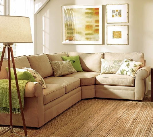 2-Piece Sectional with Wedge-5