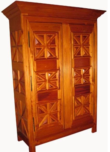 Costa Rican wood furniture
