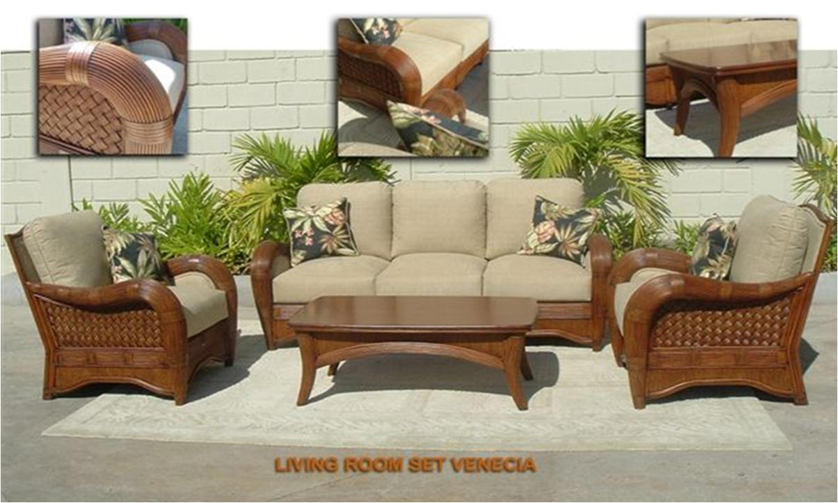 Rattan Living Room Furniture Coco Furniture Package Costa Rica Pacific Home Furnishing