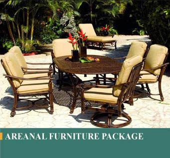 Arenal Furniture of Costa Rican made furniture package