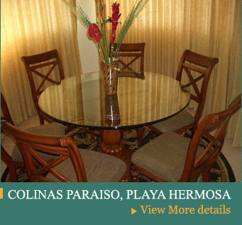 jr penthouse, oceanica flamingo beach, furniture costa rica,