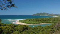 Beautiful beach in Guanacaste