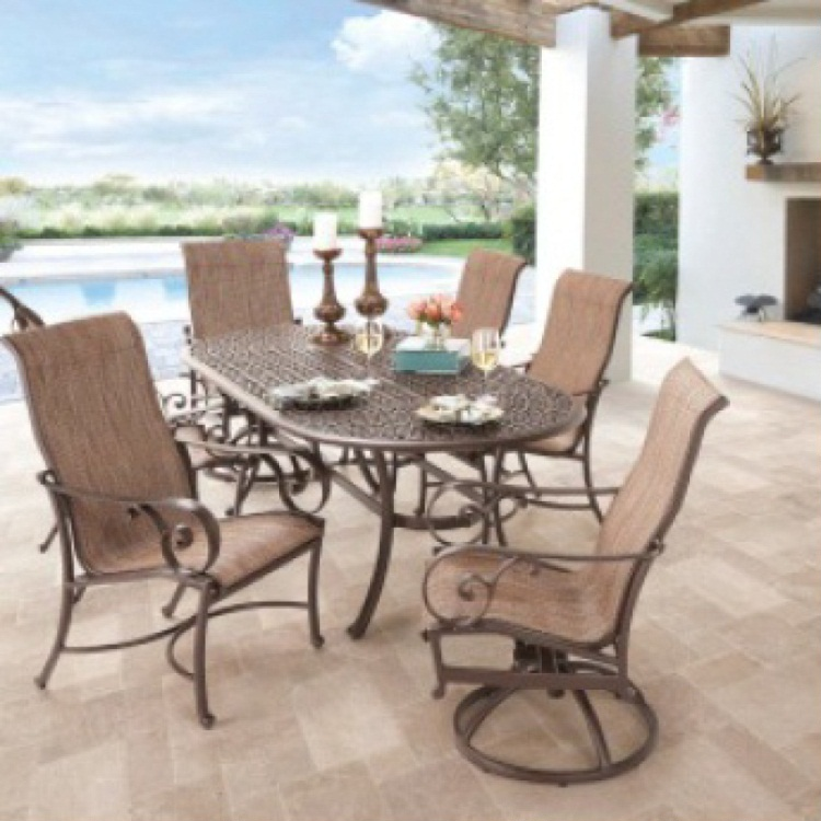 Dining Sets Sling Seating Costa Rica Furniture - Custom Made Furniture