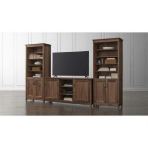 phf2016-ainsworth-walnut-64-media-center-and-2-towers-with-glass-wood-doors