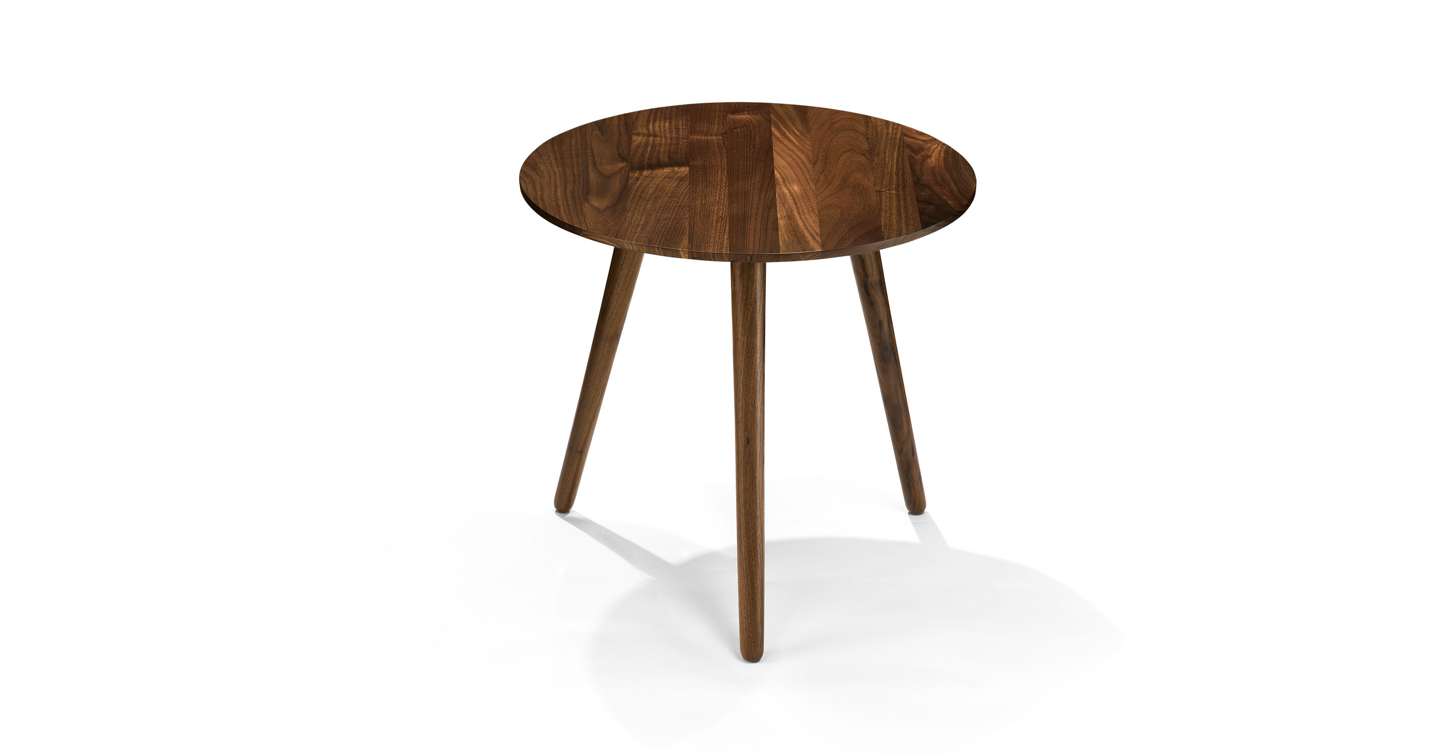 Amoeba round end table costa rican furniture for 12 end table