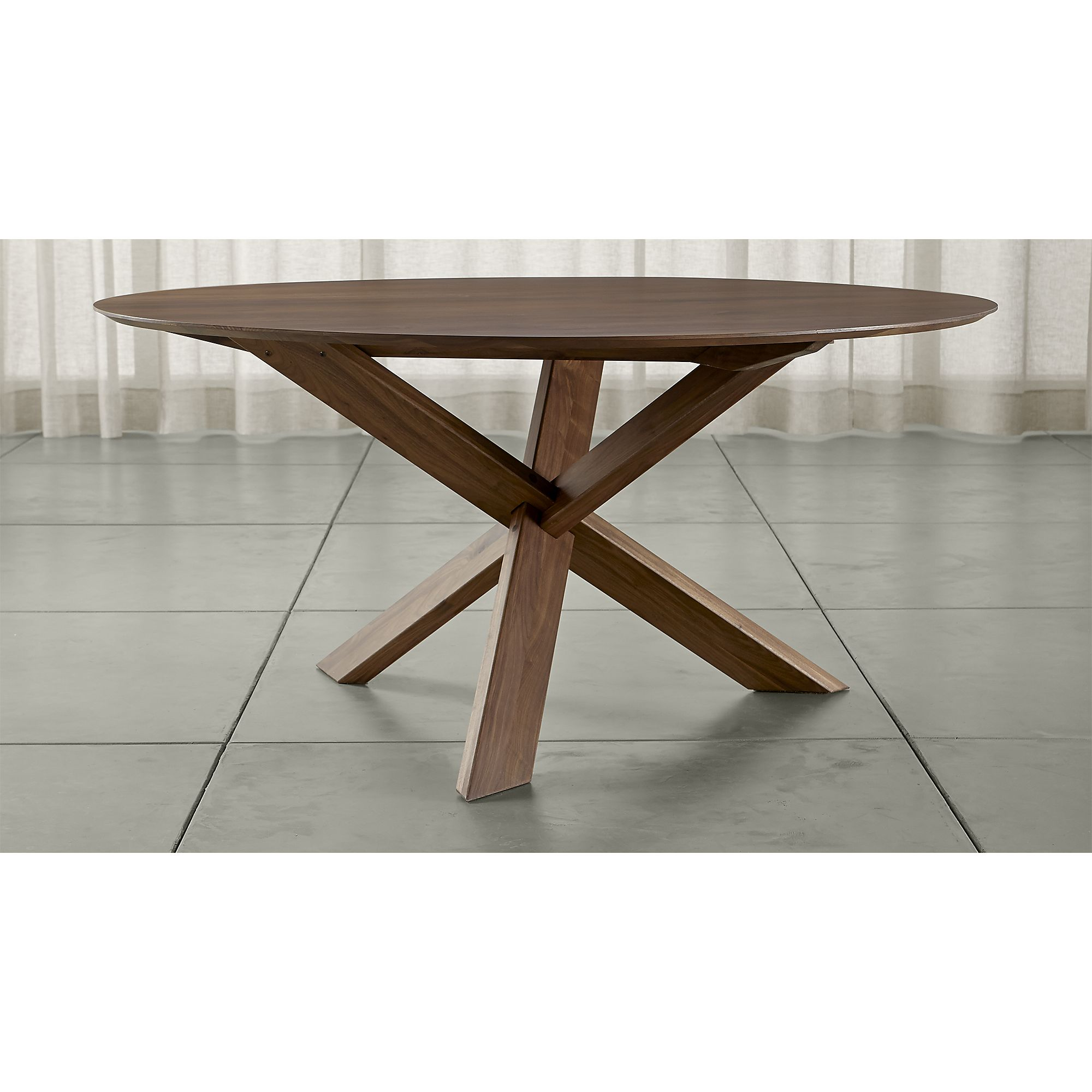Apex 64 Round Dining Table Costa Rican Furniture