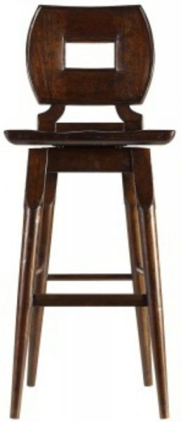Artisan classic wood bar stool costa rican furniture Artisan home furniture bar stools