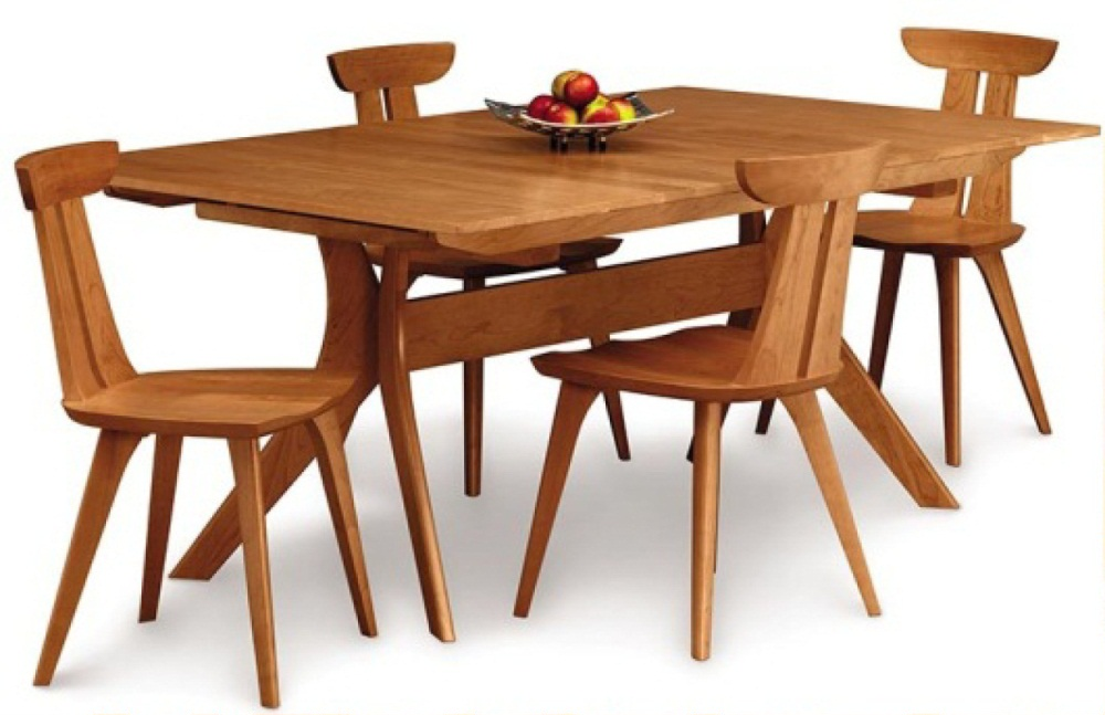Audrey 4 or 6 person dining table costa rican furniture for Dining room table 6 person