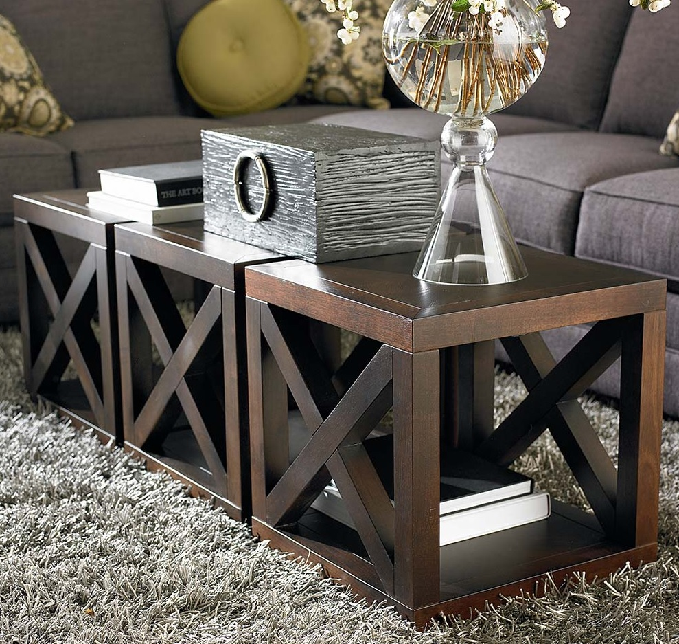 axis cube coffee table | costa rican furniture Cube Coffee Table