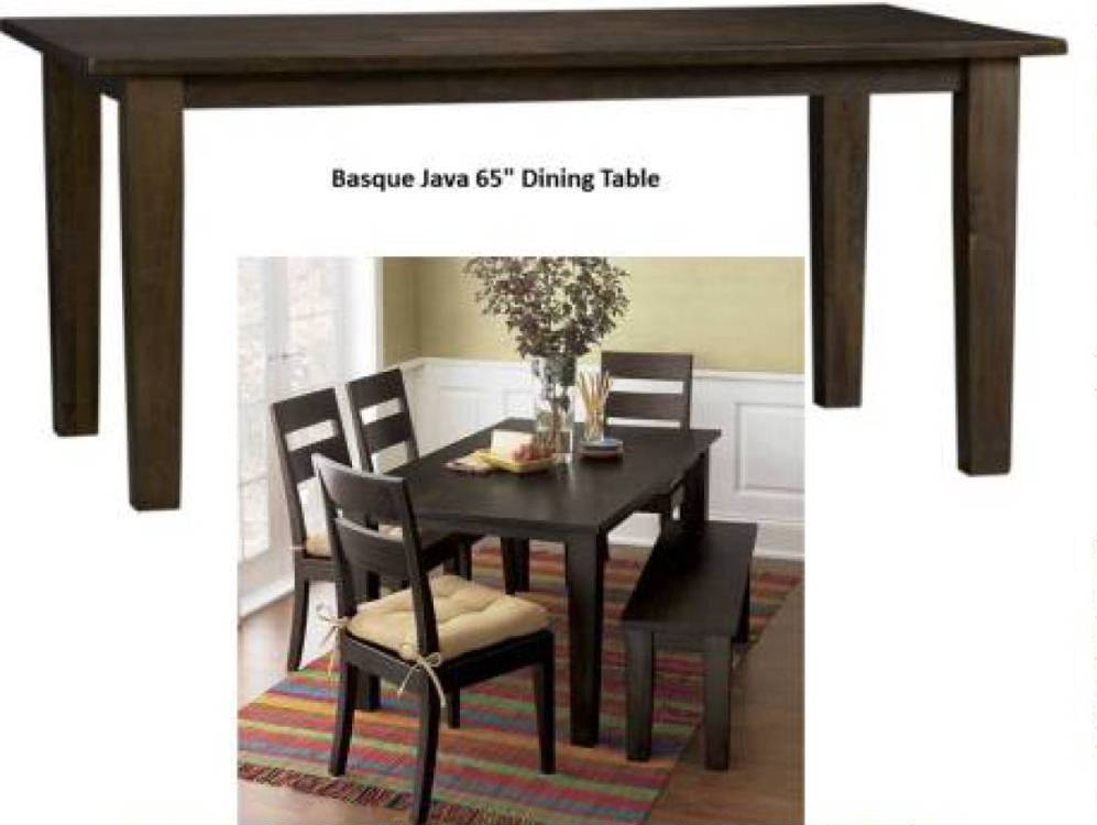 Basque java dining collection costa rican furniture for Pacific home collection