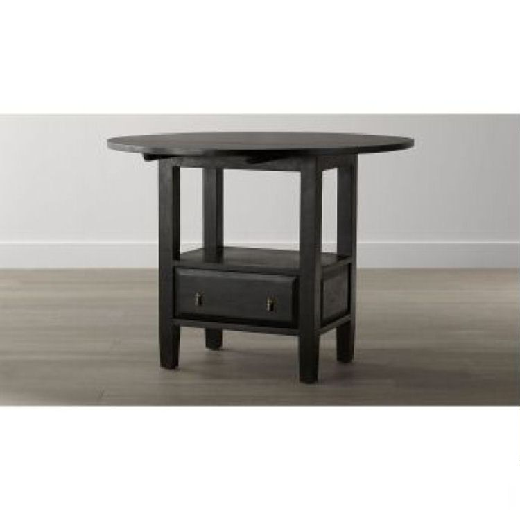 Basque Java Round High Dining Table Costa Rican Furniture