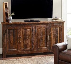 phf2016-bowry-reclaimed-wood-media-console-each-console-made-looks-diffrent-from-each-other