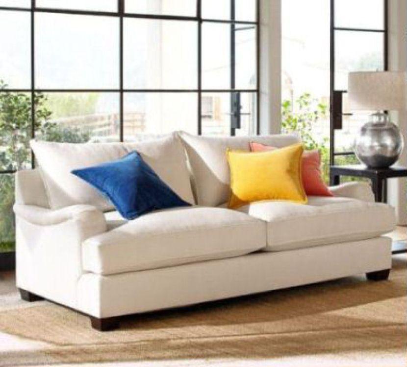 English Roll Arm Sofa: Comfort English Roll Arm Upholstered Sofa
