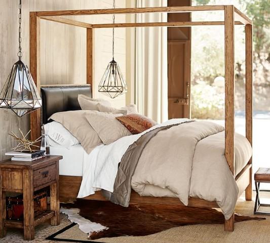 Caden Canopy Bed Costa Rican Furniture