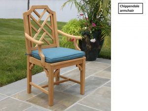 phf2016-chippendale-teak-arm-chair