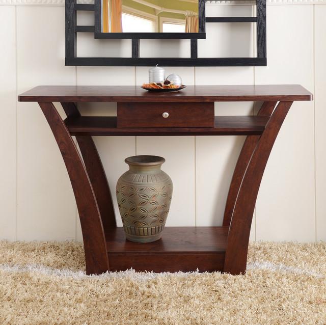 Contemporary console table phf costa rican furniture