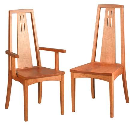 Edinburg Dining Chairs L5815 Costa Rican Furniture