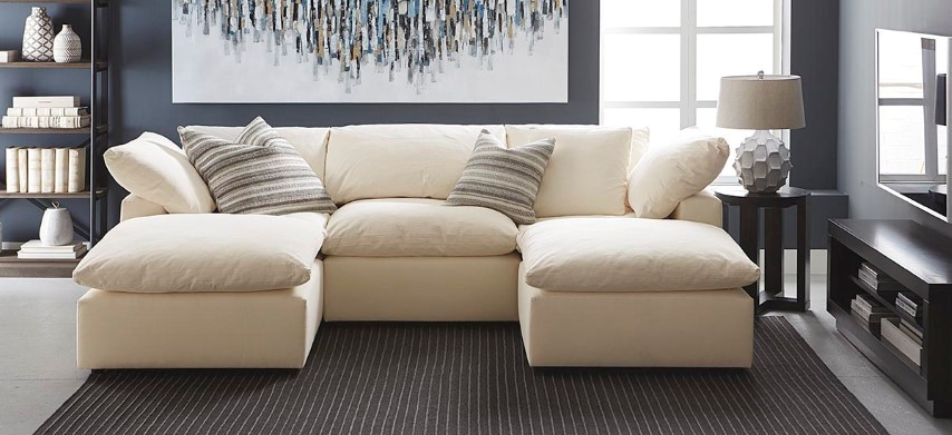 Envelop Small Double Chaise Sectional Costa Rican Furniture