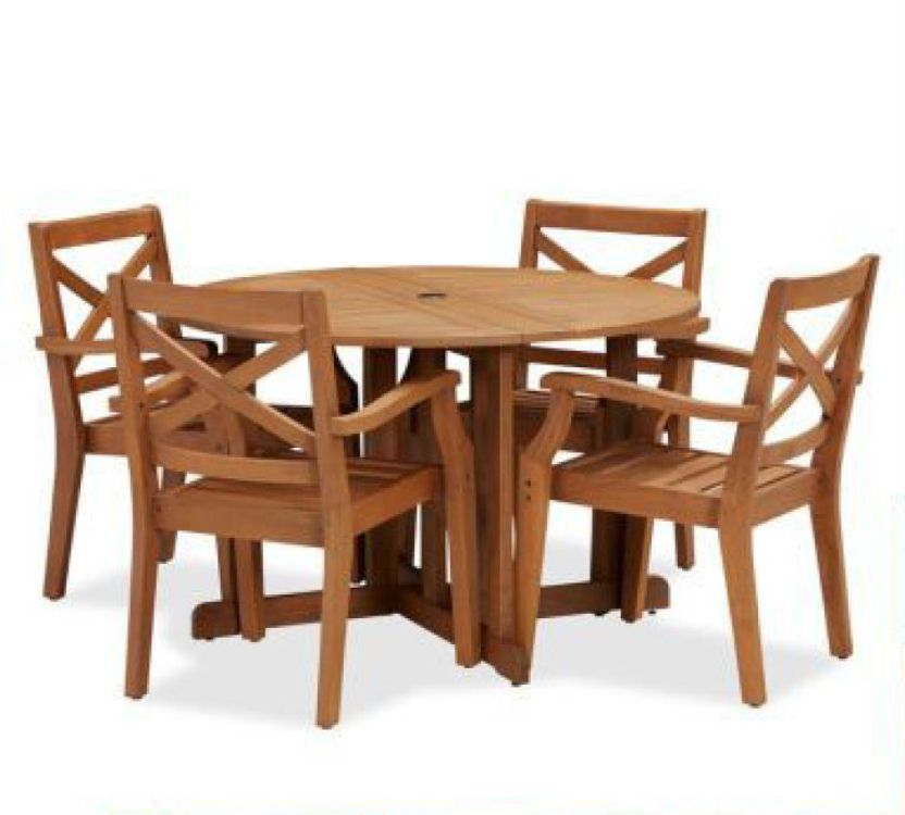 Teak Dining Table And Chairs: Hampstead Teak Dining Table And Chairs