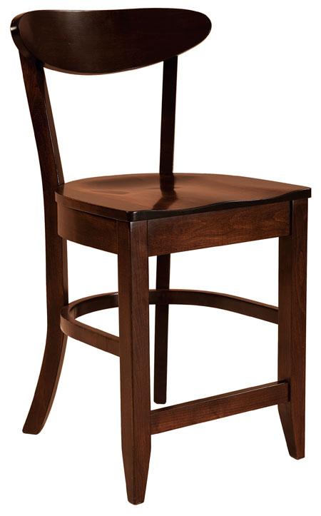 Hawthorn Bar Stool L6810 Costa Rican Furniture