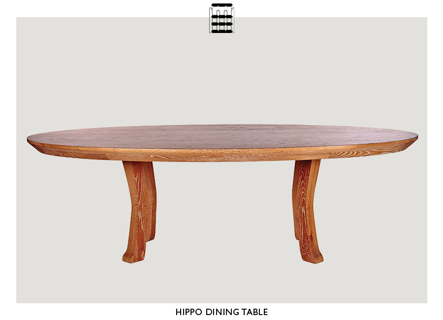 Hippo Dining Table Costa Rican Furniture - Hippo coffee table