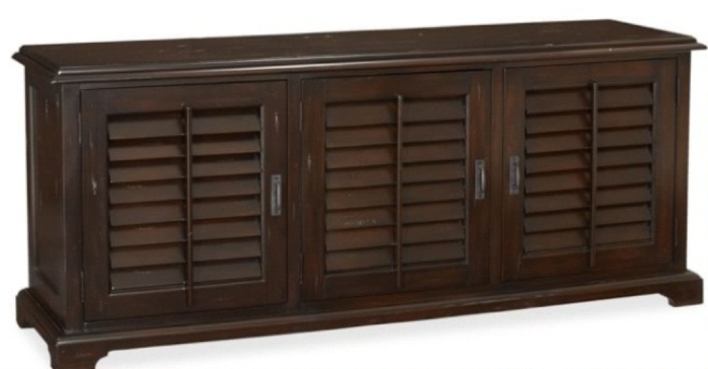 Holstead Shutter Large Media Console Costa Rican Furniture