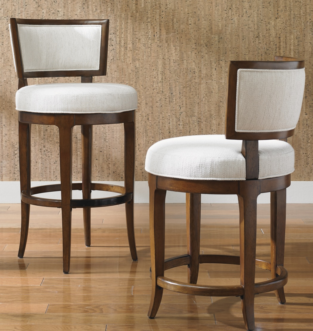 Island Fusion Macau Swivel Bar Stool Costa Rican Furniture