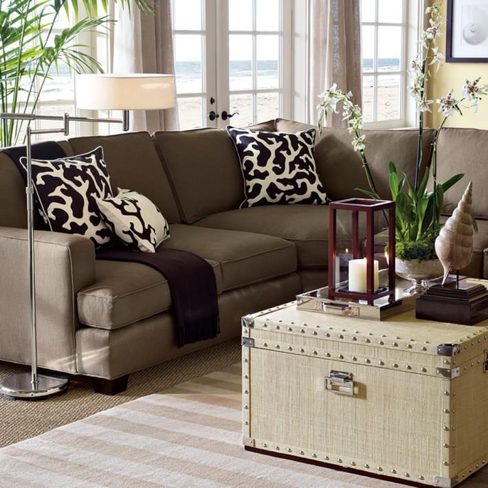 Jackson Customizable Sectional Sofa | Costa Rican Furniture