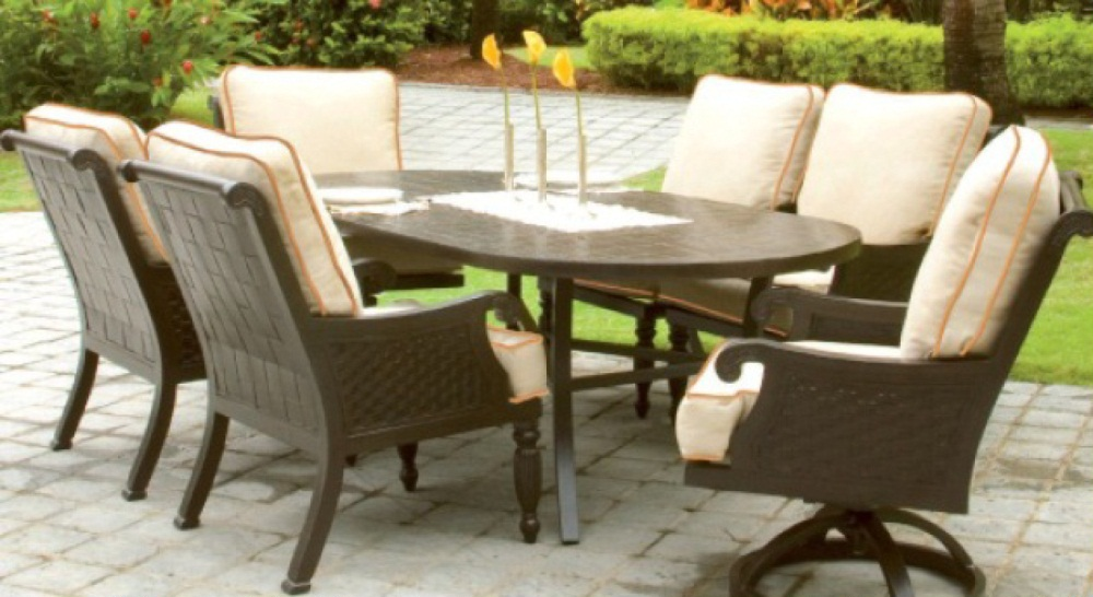 Jakarta Oval Dining Costa Rican Furniture