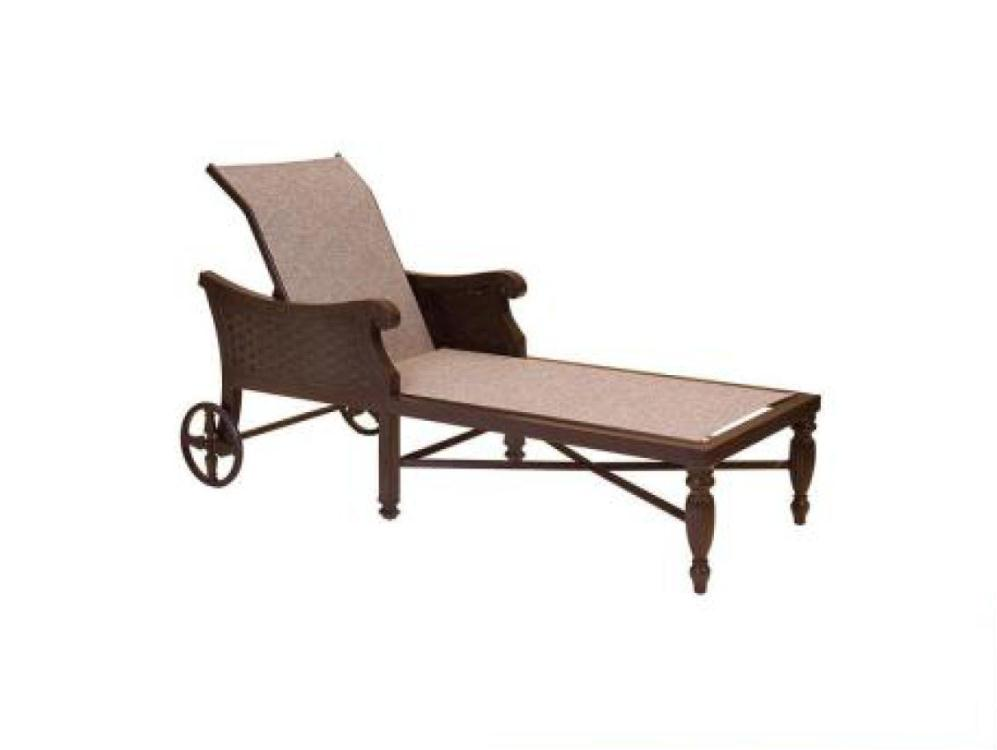 Jakarta sling chaise lounge costa rican furniture for Outdoor furniture jakarta