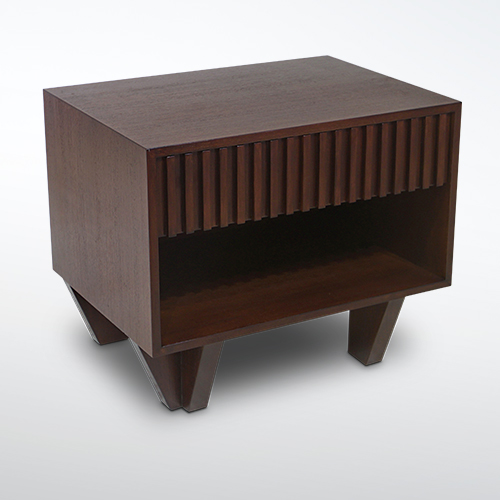 Korogated Bed Side Table Costa Rican Furniture