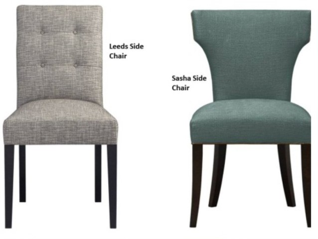 Phf2016 Leeds And Sasha Upholstered Dining Side Chairs