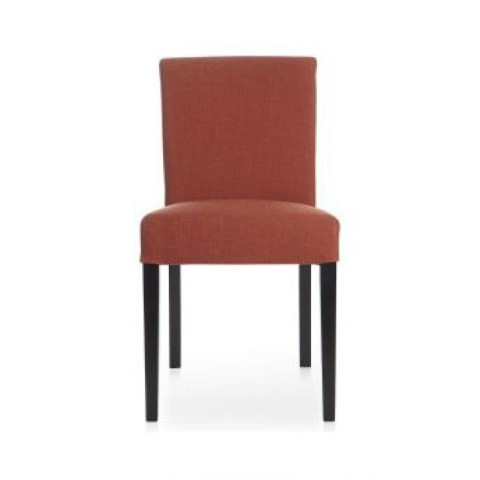 Lowe persimmon upholstered dining chair costa rican for Dining room tables lowes