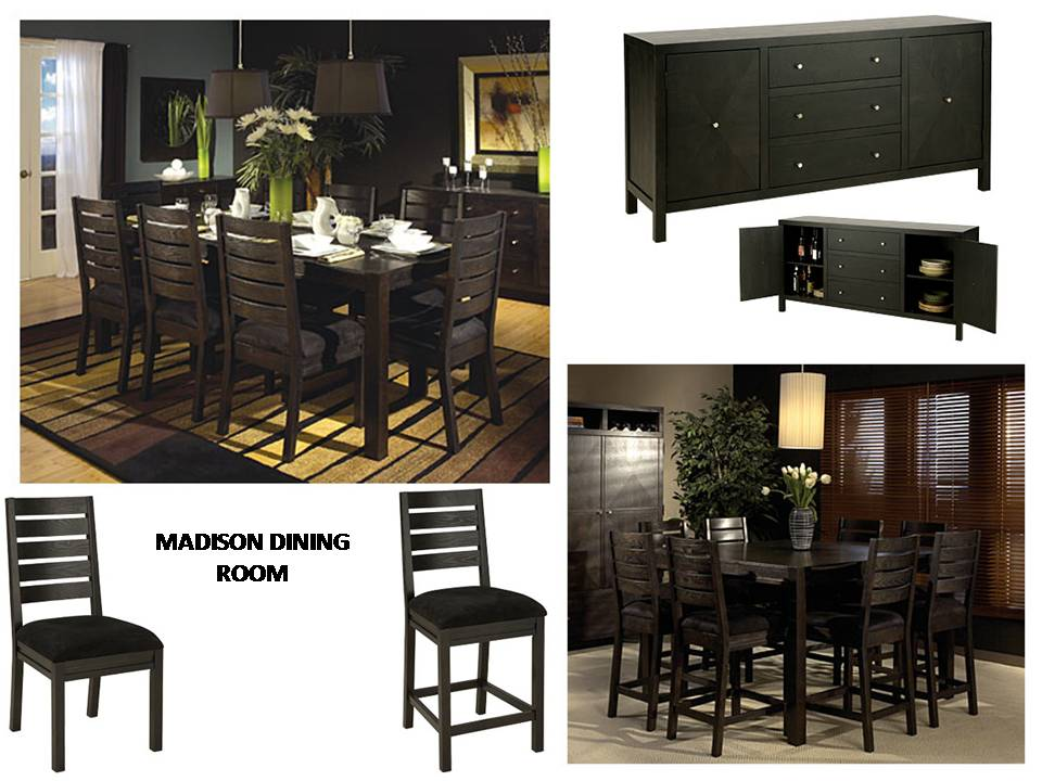 Madison dining collection costa rican furniture for Pacific home collection