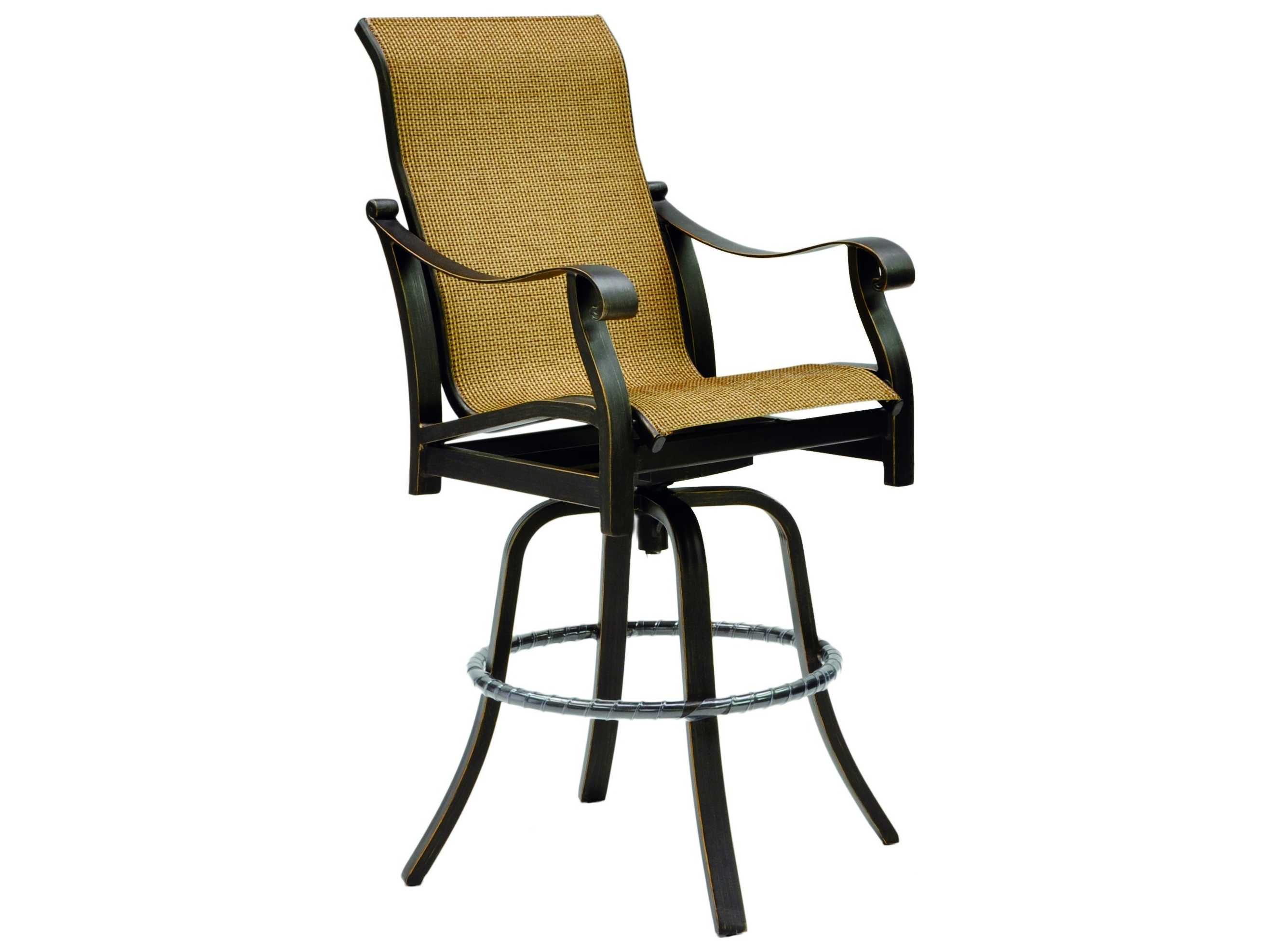 Bar Stools Sling and Deep Cushioned Pacific Home Furnishing