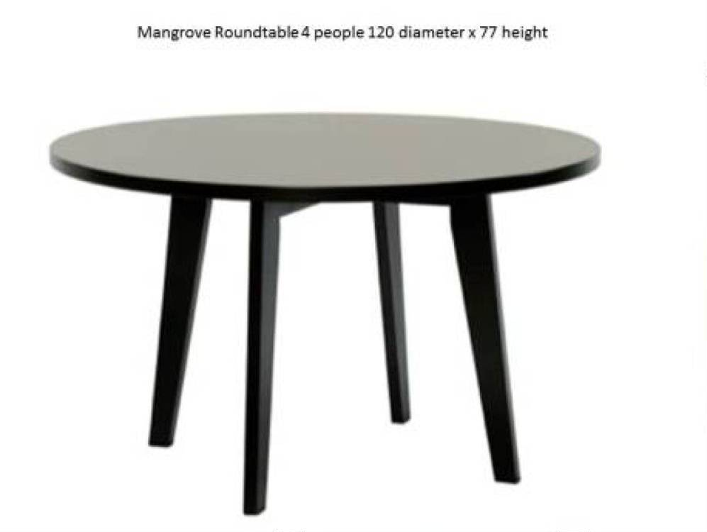 Mangrove Round Dining Table Costa Rican Furniture
