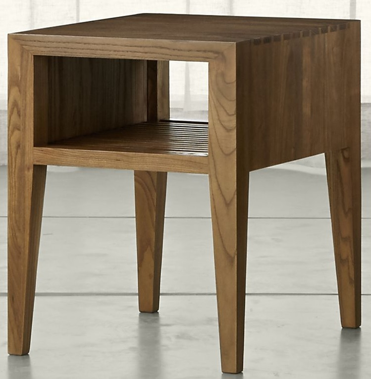 Marin Natural Solid Wood Side Table Costa Rican Furniture