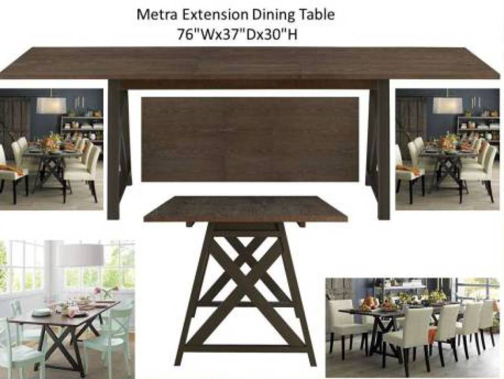 Metra dining collection costa rican furniture for Pacific home collection