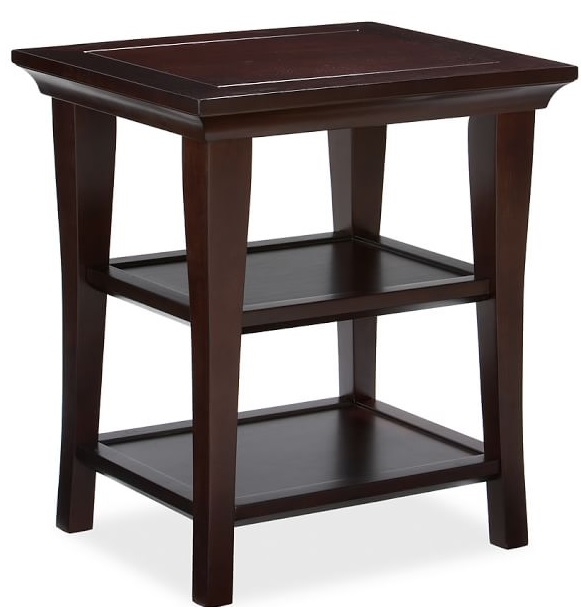 Metropolitan Rectangular Side Table Costa Rican Furniture