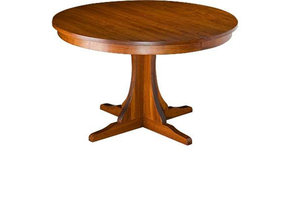 Mission Round Table Costa Rican Furniture