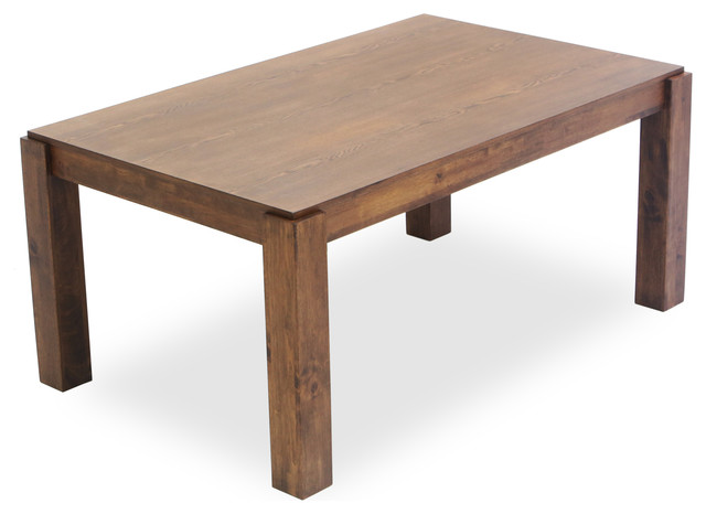 Modern wood dining table decorating 4 costa rican furniture for Wood dining table decor
