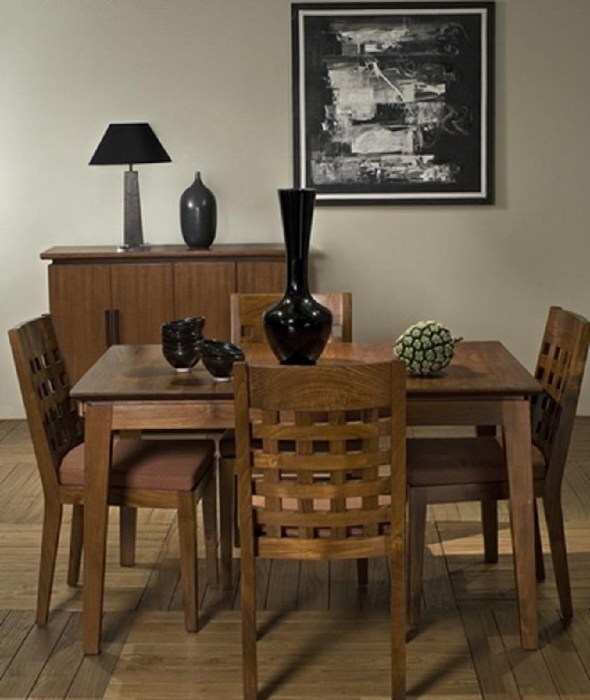 Primitive Dining Room Furniture: Neo Primitive Square Dining Set