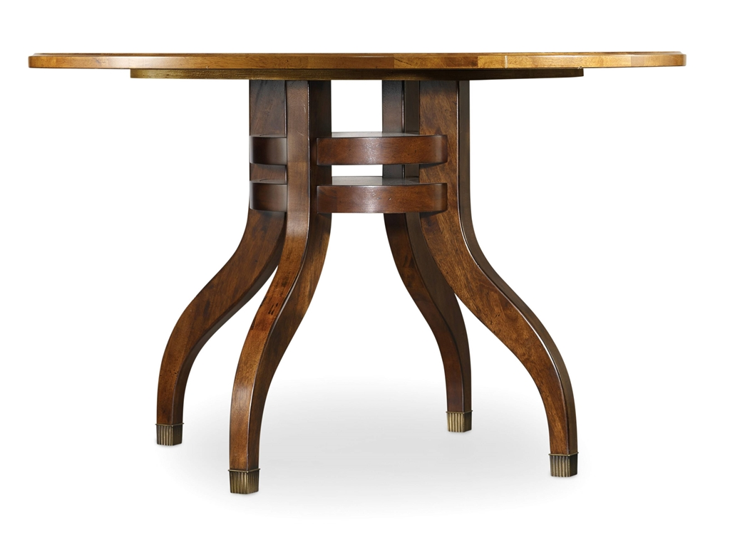 Palisade 48 round dining table costa rican furniture for Dining room tables 48 round
