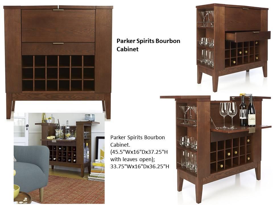 Parker Spirits Bourbon Cabinet Costa Rican Furniture