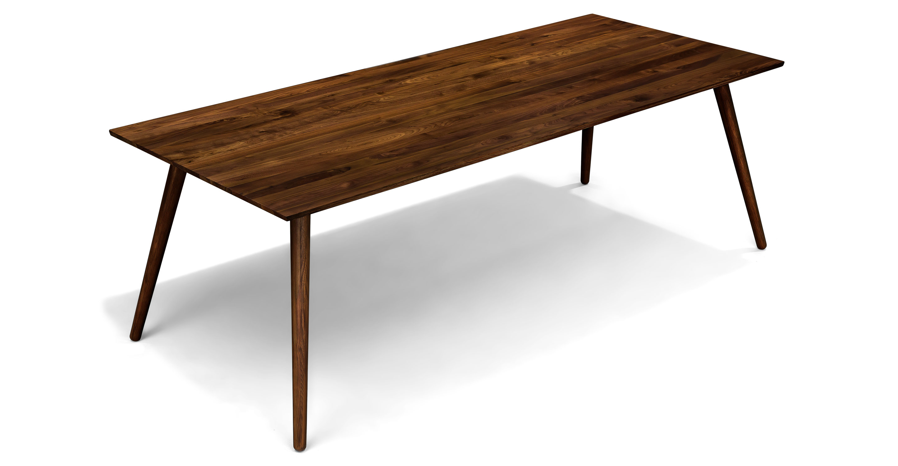Seno elongated dining table for eight costa rican furniture for Dinner table for 8