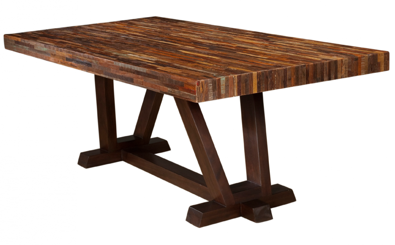 San Pedro Table Wood Design Costa Rican Furniture