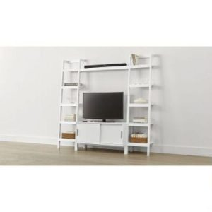 phf2016-sawyer-white-media-stand-with-media-shelf-and-two-18-bookcases
