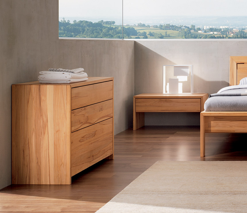 Solid Wood Bedroom Cabinets Lunetto | Costa Rican Furniture