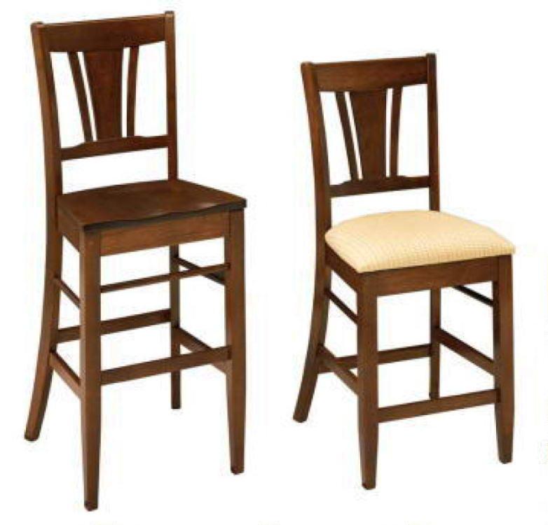 Solid Wood Bar Stools ~ Solid wood metro bar stool costa rican furniture
