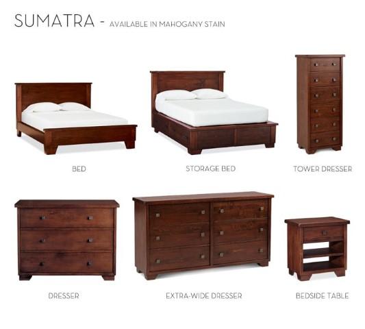 Sumatra Bedroom Collection Costa Rican Furniture